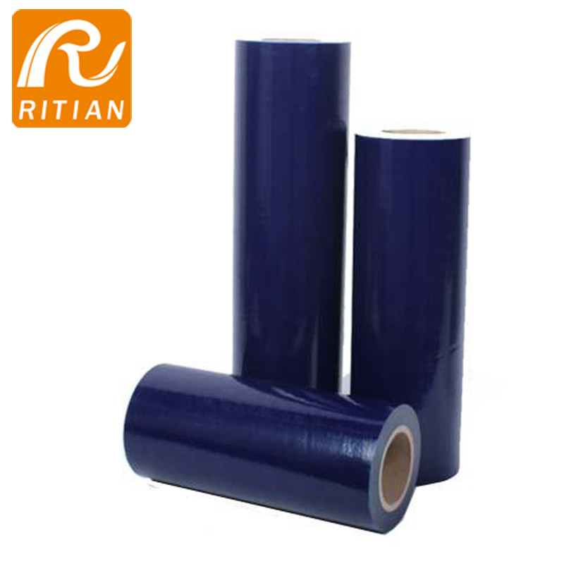 Blue PE Surface Protection Film For Window Glass - 副本