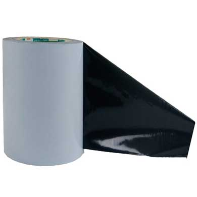 Black polyethylene film