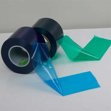 low tack protective film
