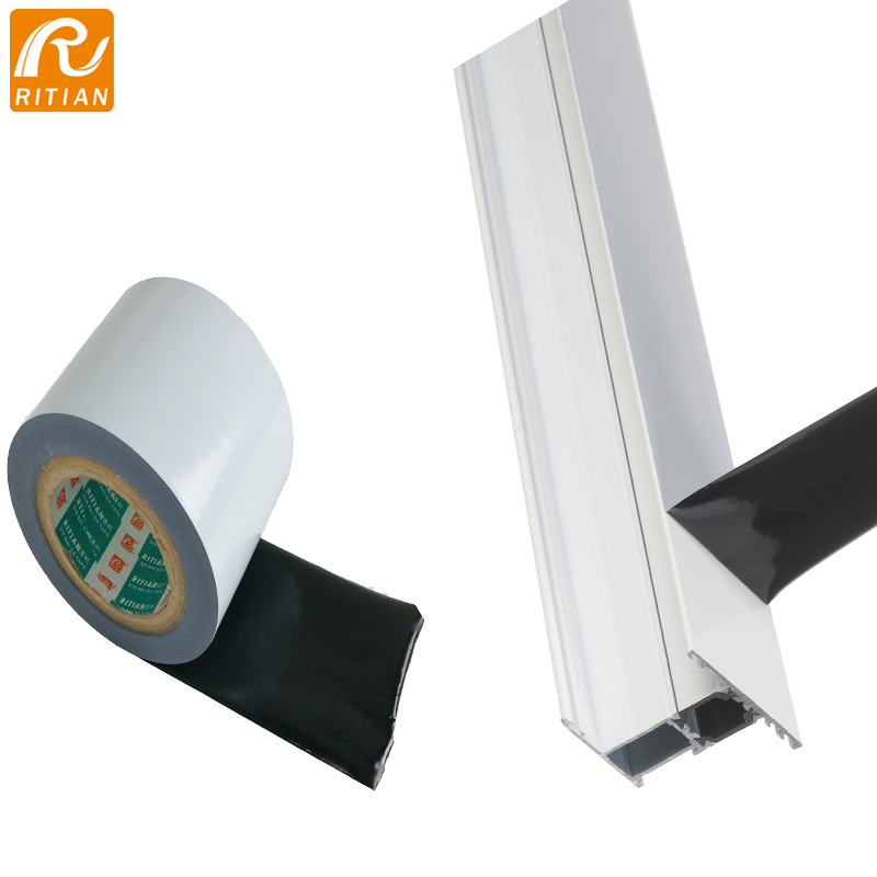 Black&White PE Protection Film For Aluminum Profile Offer Printing Logo